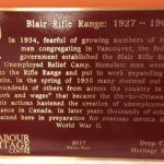 Blair Range plaque web